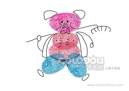 儿童手指画 - 麗麗 - 麗麗的博客