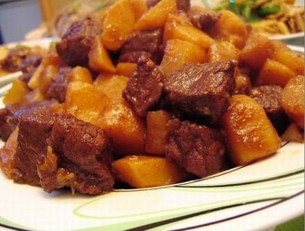 土豆炖牛肉怀孕第八个月食谱