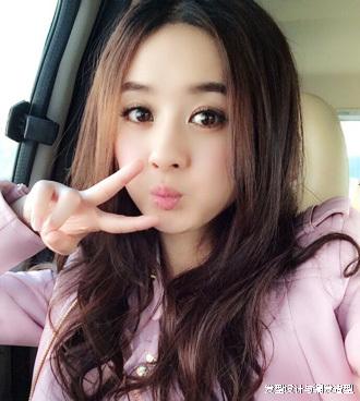 赵丽颖圆脸气质发型中分最显瘦-v圆脸八卦营青州好的烫发店图片