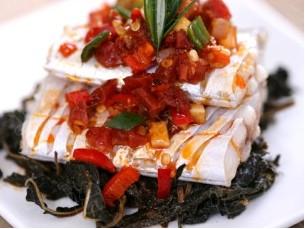 梅干菜蒸带鱼怀孕第九个月食谱