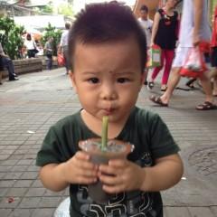 寶寶愛吃芝麻糊