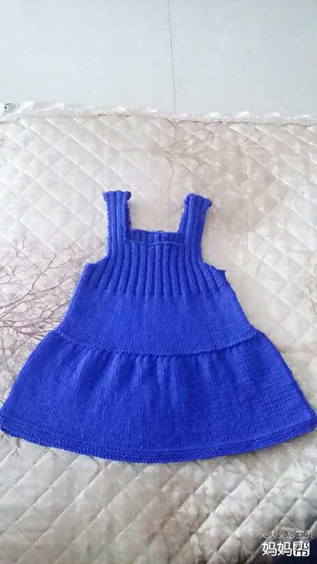 宝宝时尚韩版背带裙(附视频和文字教程)