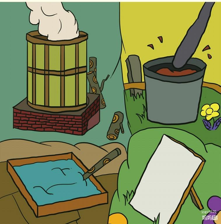 体验绘本分享 造纸术的故事——寒假带孩子玩