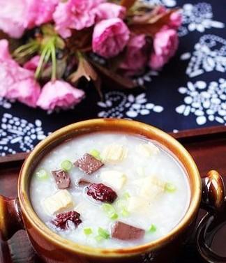 腐竹猪肝粟米粥怀孕第八个月食谱