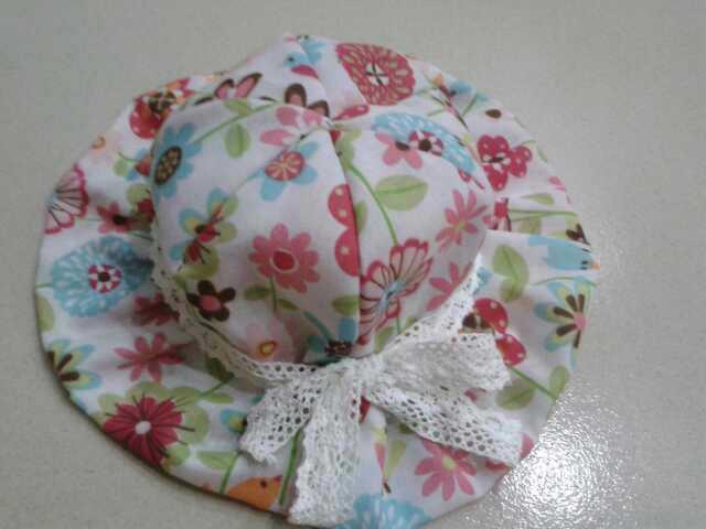 《分享教程》手工制作女宝太阳帽