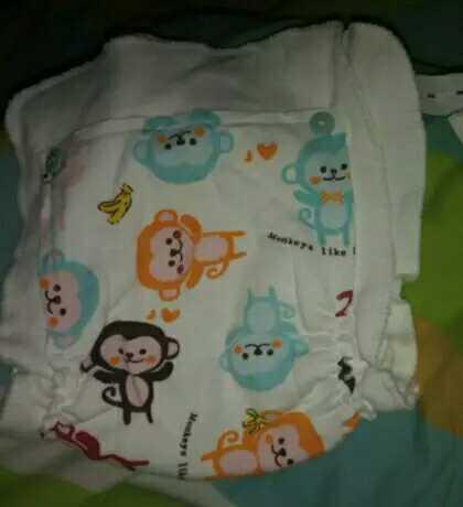 纯手工制作婴儿尿布兜