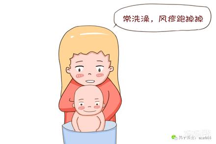 小儿风疹的症状