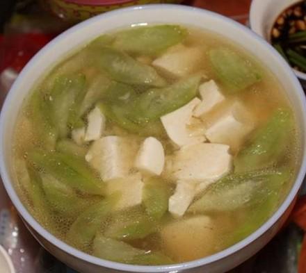 丝瓜豆腐汤怀孕第五个月食谱