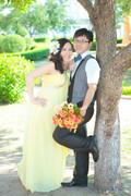怀孕14周,补拍了外景婚纱照,累迷糊了(婚纱照已上传)