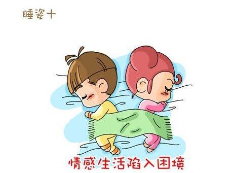 小夫妻的十大睡姿(好可爱啊)看看你是哪一种?