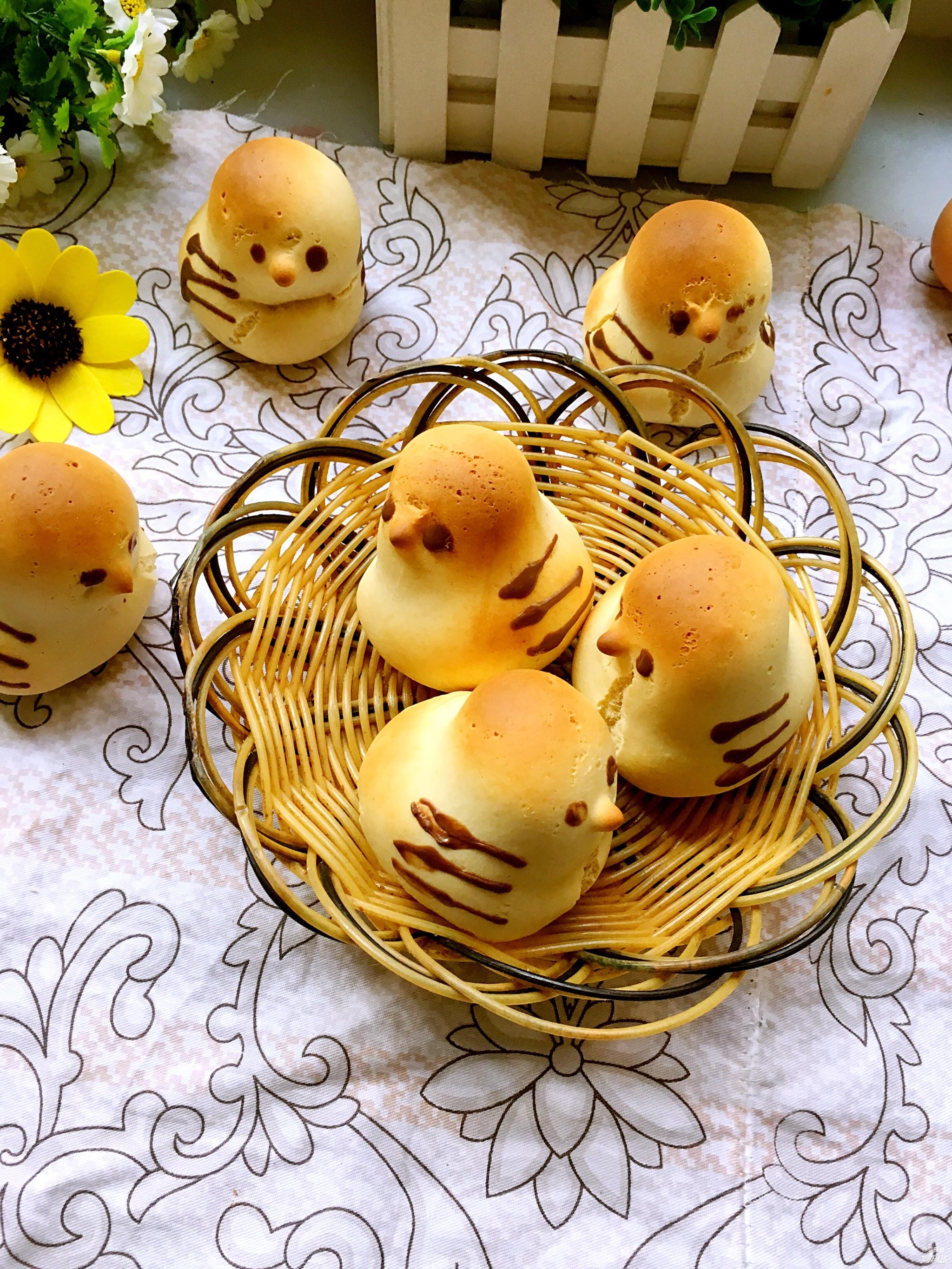 【五彩缤纷辅食秀】之黄色+小鸡烧果子