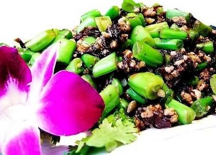 榄菜四季豆怀孕第七个月食谱