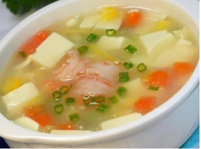 虾仁豆腐汤怀孕第二个月食谱